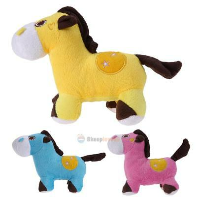 Cute Donkey Pet Dog Puppy Chew Toy Squeaker Squeaky Soft Plush Sound Toys Funny