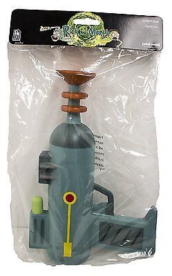 1x RICK AND MORTY CARTOON NETWORK OFFICIAL LASER GUN COSPLAY COSTUME PROP