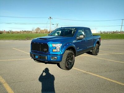 2017 Ford F-150 XLT Crew Cab Pickup 4-Door 2017 PETTY'S GARAGE Serial No. 1 FORD F-150 XLT 700HP WHIPPLE SUPERCHARGER