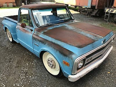 1969 Chevrolet C-10 LS, AC, Frame off, Patina 1969 Chevrolet c10 pickup, LS, AC, Frame off, Patina