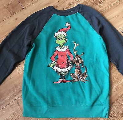 Dr Seuss The Grinch Sweater Size XL