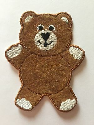 Teddy Bear Applique Patch for Overalls for Cabbage Patch Kids cpkdiana