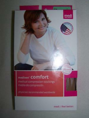 MEDI Comfort 20-30 mmHg Closed Toe Thigh High COMPRESSION STOCKINGS New Mediven