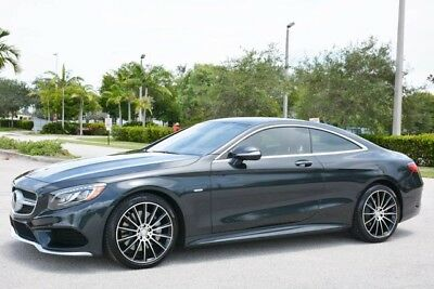 2015 Mercedes-Benz S-Class 4Matic Coupe 2-Door 2015 S550 COUPE - RARE EDITION 1 - $149,575 MSRP - FLORIDA CAR