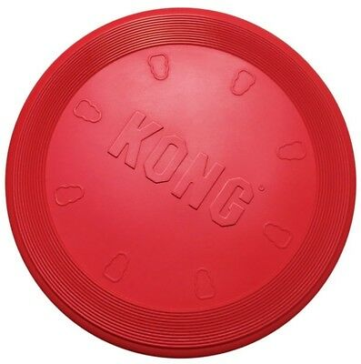 KONG Flyer Dog Toy Fetch Catching Tossing Games Outdoor Pets Activity Large Red