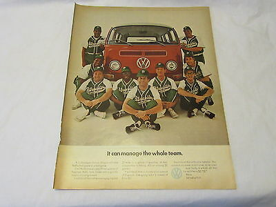 It Can Manage the Whole Team VW Van Magazine Ad