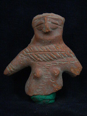 Ancient Teracotta Mother Goddess Torso Indus Valley 600 BC  #TR496