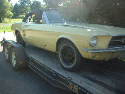 1967 Ford Mustang Standard 1967 Mustang Convertible