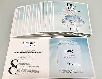 Dior Hydra Life Jelly Sleeping Mask 20x1ml=20ml Muestras-Samples