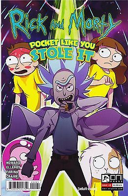 RICK AND MORTY Pocket like you Stole it (2017) #2 - Cover B - New Bagged