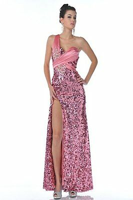 Dress Evening Gown Formal Wedding Bridesmaid Bridal Mother Pageant Party SIZE 8