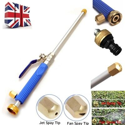 High Pressure Power Washer Spray Nozzle Garden Home Water Hose Wand Attachment