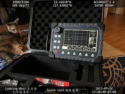 New HS710 DIGITAL FLAW DETECTOR + AWS D1.1 and DAC w/ Probes and wedges