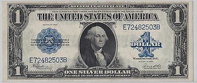 1923 $1 Large Currency Silver Certificate Fr 237 - Free Shipping And No Reserve