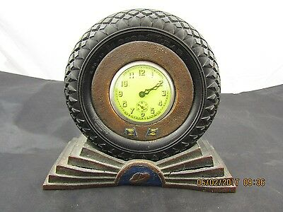 Vintage Goodyear Advertising clock very old only one I have seen like this