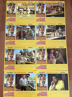 The Great Outdoors lobby cards complete set of 8- Dan Aykroyd -John Candy