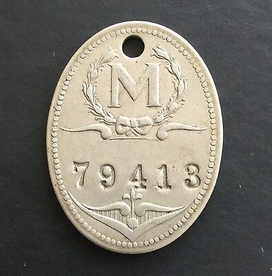Charge Coin ID Tag May Department Store Baltimore Maryland MC Token M