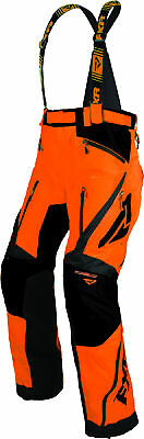FXR Mens Orange Mission X Insulated Snowmobile Pants Snocross