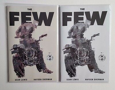 The Few #1 25th Anniversary Image Blind Box Color + B&W Sketch Variant Lot