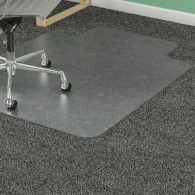 Lorell 36 by 48-Inch Standard Chair Mat 19 by 10-Inch Lip Clear