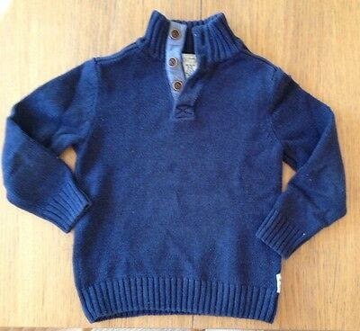 H&M Boys Jumper And Polo Top Sz 5-6