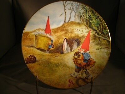 Rien Poortvliet Gnome Plate Gnome Know How