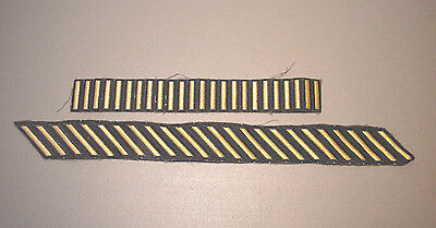 U.s Army Gold Service Bar Stripe Patches #2    L@@k