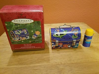 Hallmark Keepsake Christmas Ornament The Jetsons Lunchbox & Thermos 2002