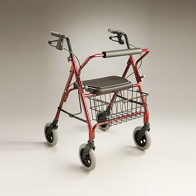 Cq Caravan Walker Reinforced Aluminium Frame Bariatric Height  Adjustable Handle
