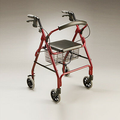 Cq Adventurer Walker Folding Aluminium Frame & Backrest Easy Storage & Transport