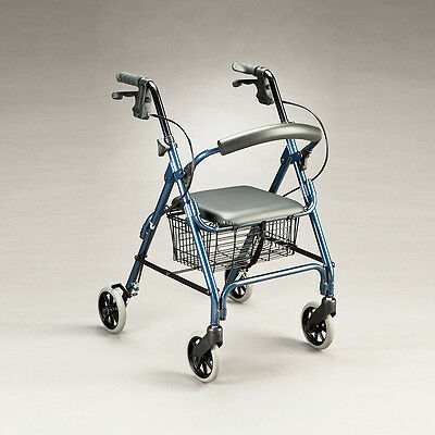 Cq Rover Walker Folding Aluminium Frame & Backrest Easy Storage & Transportation