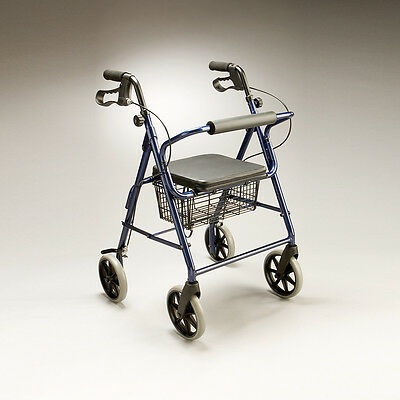 Cq Tourer Walker Folding Aluminium Frame Easy Storage & Transportation, Height A
