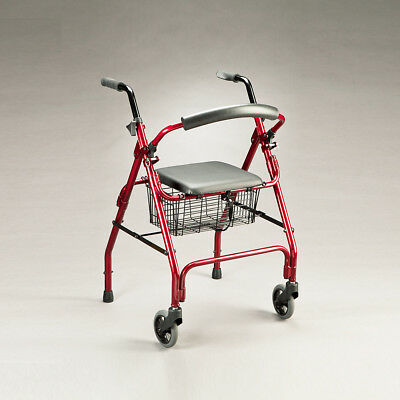 Cq Pacer Walker Folding Aluminium Frame & Backrest Easy Storage & Transportation
