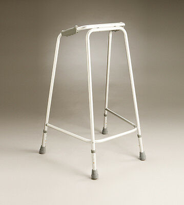 Coopers Non-Folding Lightweight Aluminium Walking Frame Height Adjustable