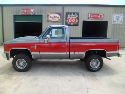 1987 Chevrolet Other Pickups Silverado 1987 Chevrolet 1/2 Ton Pickup 4X4 5.0 Liter Engine 700R4 Trans P/S P/B A/C LOOK