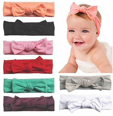 Baby Bling Headband Turban Knotted Hairbands Newborn Toddler Assorted Colors