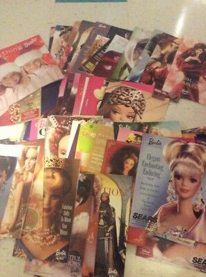 Barbie Doll Collector Fashion Model Catalog Lot Of 80 Starting In 1997