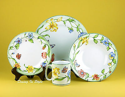 4 Pc. Place Settings (s), Secret Garden, MINT & NEAR MINT! Coventry, PTS
