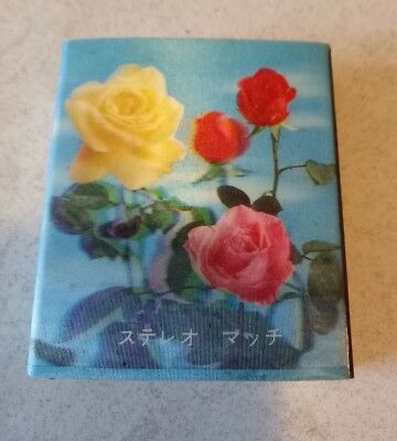 collectable rose matchbox