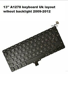 "Apple MacBook Pro 13"" Unibody A1278 Tastatur fits 2009 2010 and 2011 NEW"
