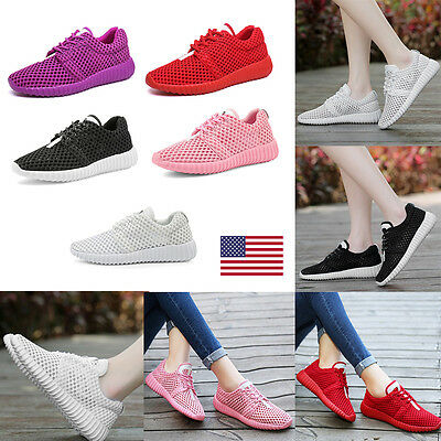 US Fashion Breathable Women Walking Sport Shoes Casual Sneakers Running Trainers