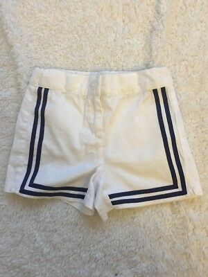 Janie And Jack Baby Boy White Shorts Size 18-24 Months