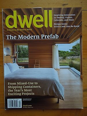 DWELL MAGAZINES: Back Issues (83 Total) from 2006-2016 $3.00/copy@ COMPLETE YEAR