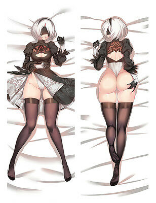 Anime Nier:Automata NieR Automata Pillow Case Cover Hugging Body cosplay B