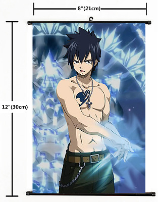 Japan Anime FAIRY TAIL home decor Wall Scroll Poster 1774