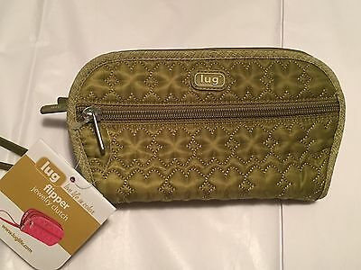 Sage green small Flipper Jewelry Clutch by Lug