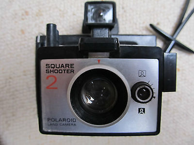 Vintage 1970s Instant film Polaroid, Square Shooter 2 camera