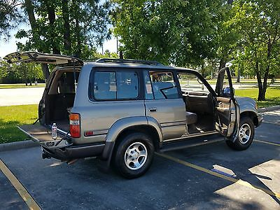 1997 Toyota Land Cruiser 40th Anniversary 1997 Toyota Land Cruiser