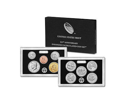 In Stock!!! 2017-S US Mint 225th Anniversary Enhanced Uncirculated Coin Set