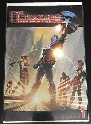 The Ultimates #1 VFN 2002 Vol 1 *$.99 AUCTION* Avengers Captain America Thor